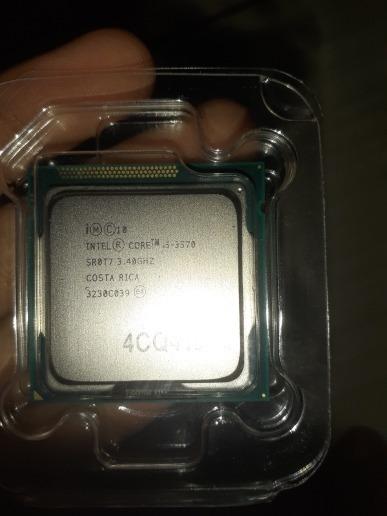 Processador I5 3570 Quad-core 3.4 Ghz L3 = 6 M 77 W Lga 1155