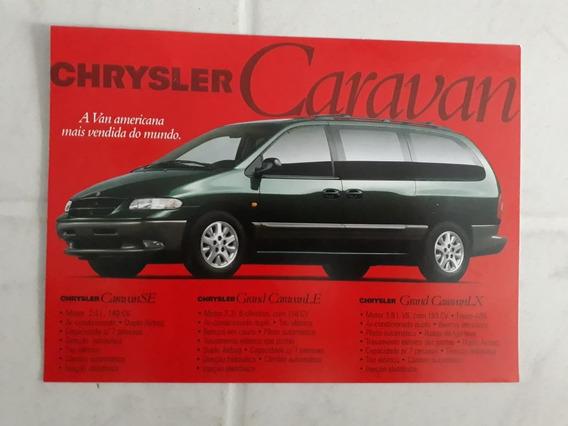 Propaganda De Revenda Chrysler Caravan E Chrysler 300 1999