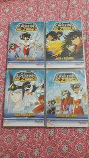 Os Cavaleiros Do Zodíaco Anime Dvd Volume 15 Ao 18