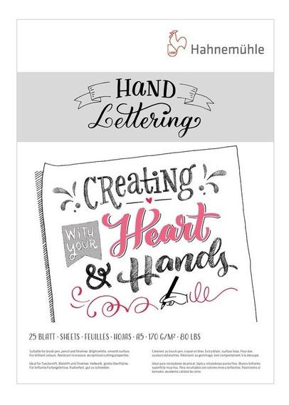 Papel Hand Lettering Hahnemühle A5 170 G/m² 25 Folhas