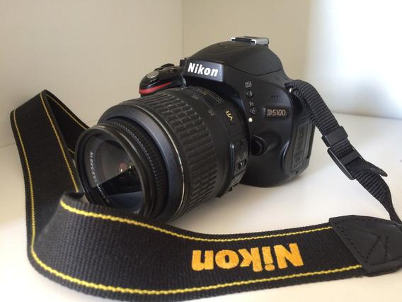 Kit Nikon D5100 + Lente 55-200 + Flash Yn565ex + Acessórios
