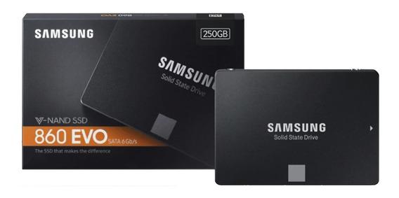 Ssd Samsung 860 Evo 250 Gb Sata 3 6 Gb/s Original Lacrado