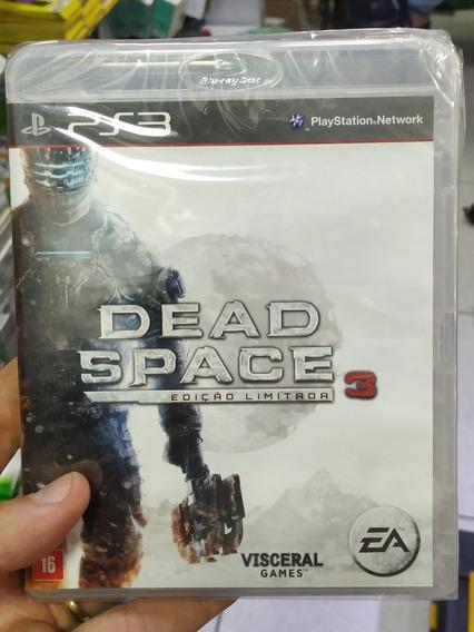 Dead Space 3 Edição Limitada Ps3 Novo Lacrado Mídia Física