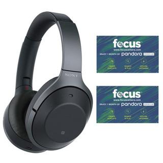 Sony Noise Cancelling En Auriculares (negro) Con Pandora Plu