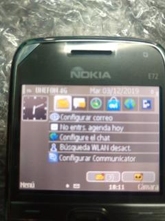 Nokia E72 Gris. Libre. $1499.