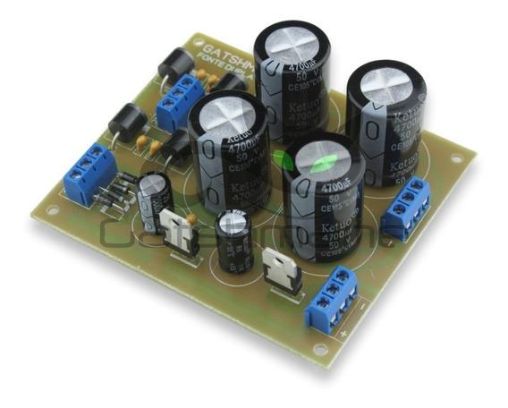 Fonte Para Amplificadores 4 X 4700uf/63v + Fonte Para Pre