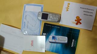 Nokia 3125- Estado De Zero- Lcd Trincado -item P/colecionar