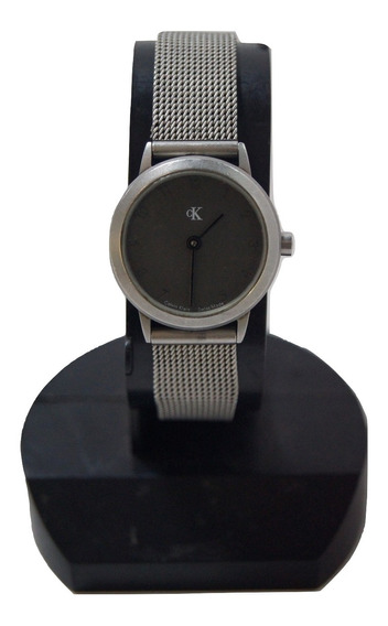 Relógio Vintage Feminino Calvin Klein Prateado.