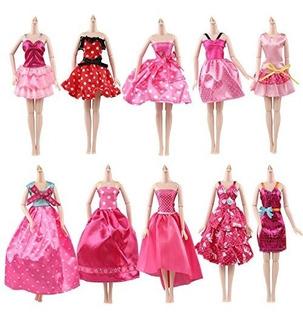 Farand Conjunto 10 Vestidos Alta Calidad Hechos A Mano Vesti