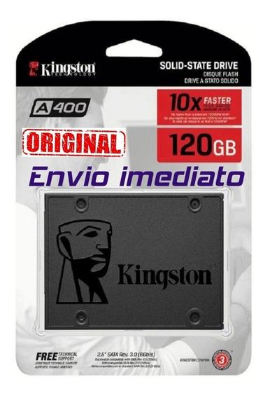 Hd Ssd 120gb Kingston Sata A400 500 Mb/s 2,5 10x+original+nf