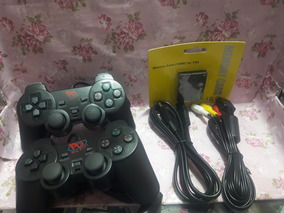 Kit Playstation 2 (controles,cabo Energia,cabo Av,memory)