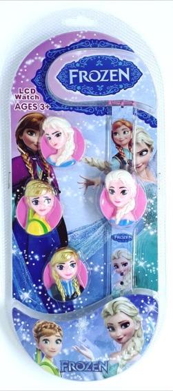 Relógio Infantil Super Heróis E Princesas