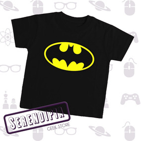 Playera Batman Para Bebé Superhéroes