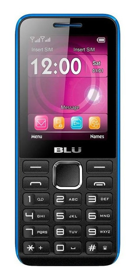 Celular Blu Tank Ii Dual Chip Tela 2.4 Bluetooth