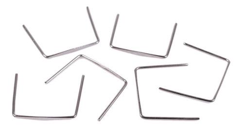 100 Clips Gravata Para Montar Lustre 16mm Em Aço Inox
