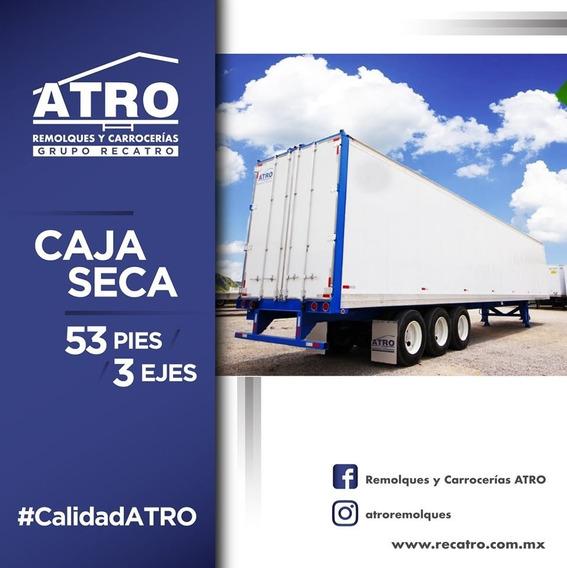 Atro Remolques Caja Seca 53 Pies (2) Ejes Modelo 2021