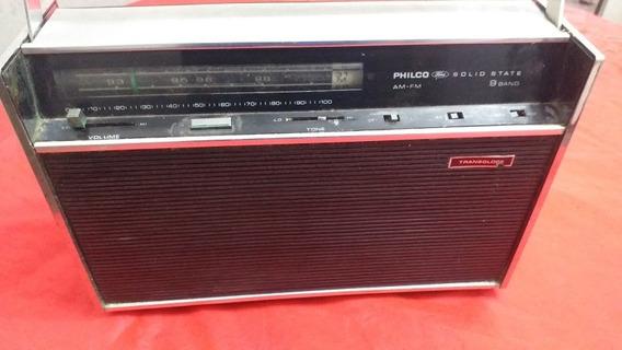 Radio Transglobe Philco Ford Parado!!!
