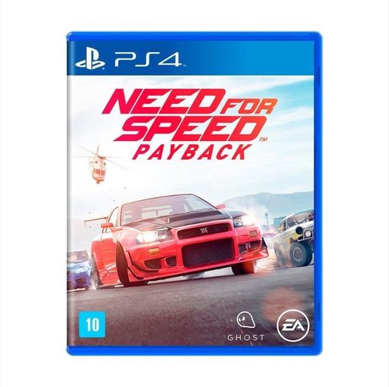 Need For Speed: Payback - Ps4 - Mídia Física