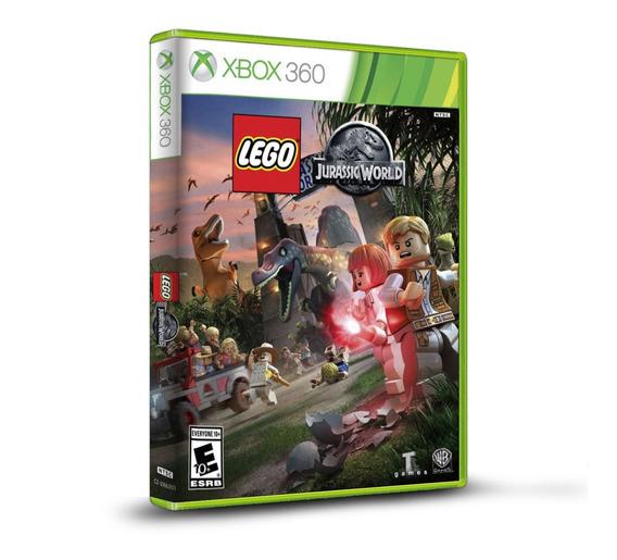 Lego Jurassic World - Original Para Xbox 360 - Novo