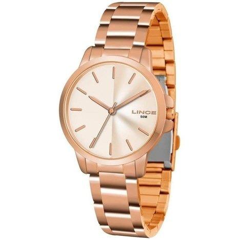 Relógio Lince Lrr4482l R1rx Analógico Rose Original