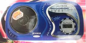 Radio De Bolsa Am/fm/tv Radio Promocao Kit 5