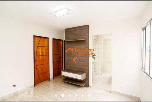 Imagem 1 de 17 de Apartamento Com 2 Dormitórios À Venda, 50 M² Por R$ 206.700,00 - Jardim Valéria - Guarulhos/sp - Ap3444