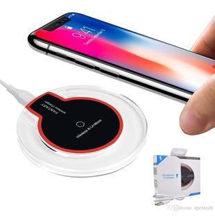 Cargador Inalámbrico Carga Rápida Base Samsung Huawei iPhone