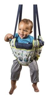 Brincador Para Bebé Evenflo Buhó Para Puerta Columpio Saltador Jumper Ajustable Para Estimulación Temprana Ejercitador