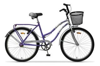 Bicicleta Rodado 26 Dama Full Tomaselli City