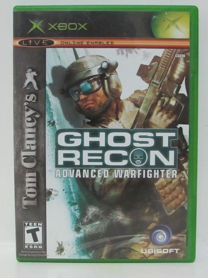 Xbox - Ghost Recon Advanced Warfighter - Completo Com Manual