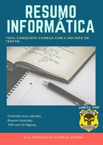 Resumo De Informática Para Concurso Público