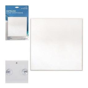 Espelho Com Ventosa 8,5 Cm Barba No Box Art Beauty