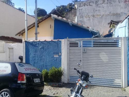 Imagem 1 de 3 de Casa Com 2 Dormitórios À Venda, 110 M² Terreno Por R$ 350.000 - Vila Santa Luzia - Taboão Da Serra/sp. Confira! - Ca0303
