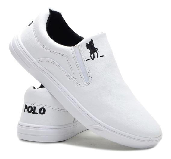 Tenis Sapatenis Polo Plus Masculino Sapatenis Cano Baixo