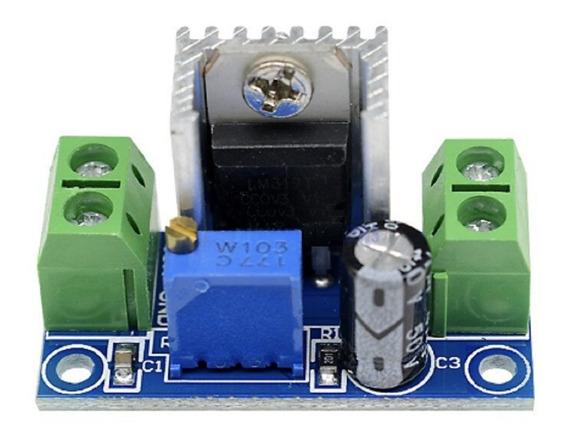 Lm317 Dc-dc Step Down Regulador De Tensão Ajustável