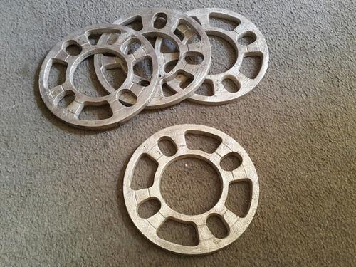 Separadores De Rines Manzana 108, 100, 114 Aluminio