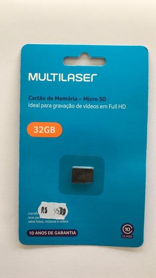 Cartão De Memória De 32 Gb Da Multilaser