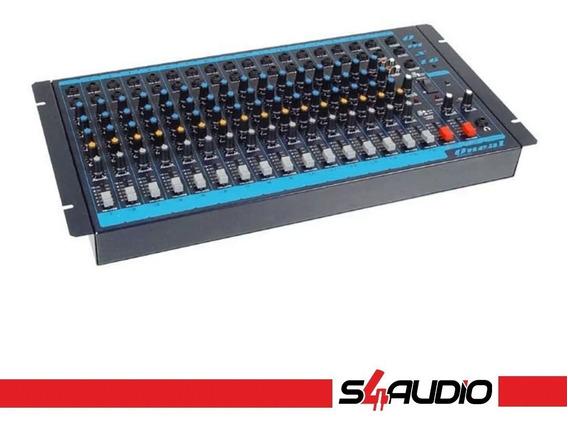 Mesa Misturadora De Som - Oneal - Omx 16 + 1 Aux. Dvd/cd/mp3