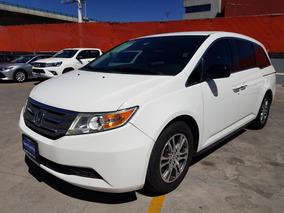 Honda Odyssey Exl Piel Dvd Qc Blanca 2013 Garantia /agencia