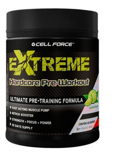 Extreme Hardcore 300g - Pré Treino - Cell Force