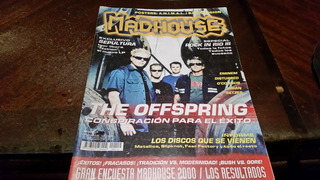 Revista Madhouse 119 The Offspring Con Poster Animal-bad Rel