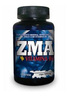 Zma 90 Cápsulas ( Aumento De Testosterona) Promoção Só Hoje