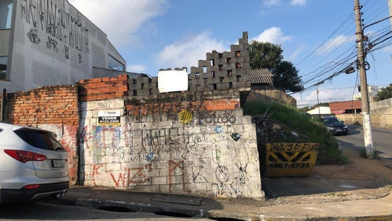 Terreno À Venda, 300 M² Por R$ 530.000,00 - Vila Mussolini - São Bernardo Do Campo/sp - Te0251