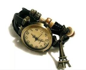 Relógio Pulseira Vermelha Com Pingente Feminino Frete Barato