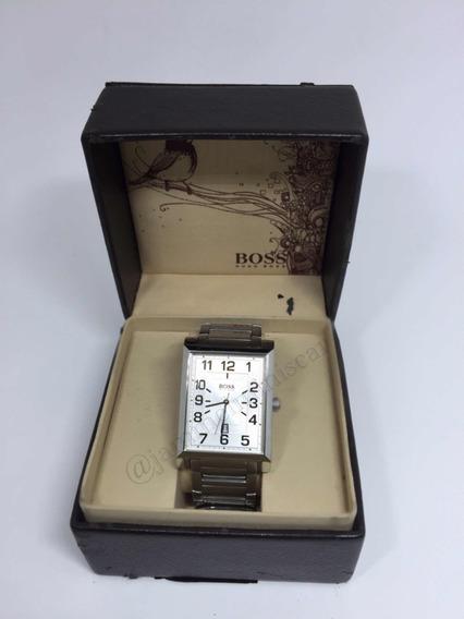 Relógio Masculino Hugo Boss Pulseira Em Metal