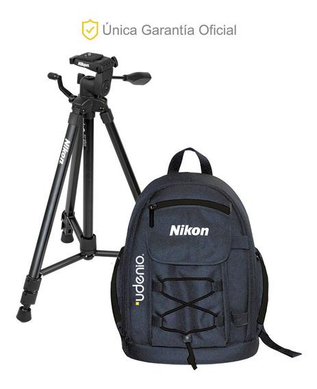 Kit De Mochila Para Cámara Y Trípode Nikon