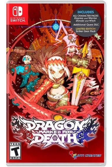 Dragon: Marked For Death - Switch Lacrado