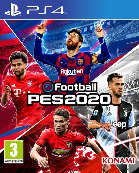 Pro Evolution Soccer Efootball Pes 2020 Ps4 Primária Pes 20