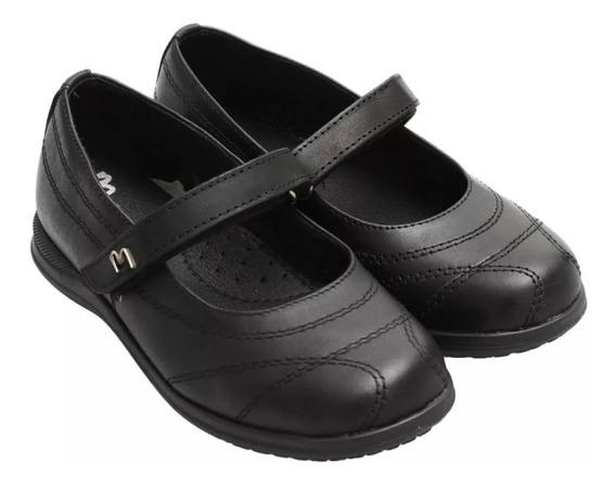 Zapatos Guillerminas Marcel 300 Colegial Nena Abrojo