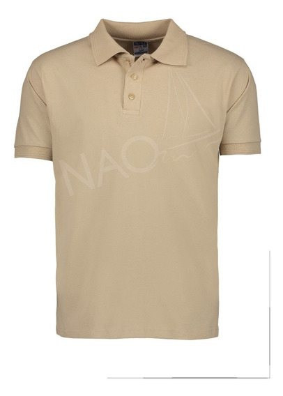 Playera Polo Nao Color Kaki 100% Algodón / Uniforme Empresa